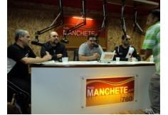 Alunos da ER em vista a rádio Manchete Rio